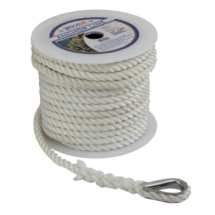 Pre-Cut Anchor Lines - Twisted Nylon 1