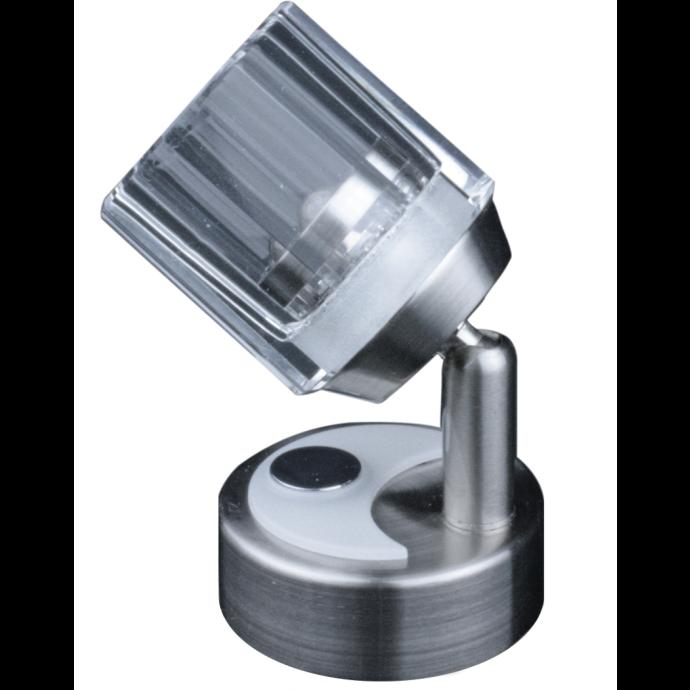 33MW Elegant Wall Mount LED Light - Brushed Nickel, Dimming 1