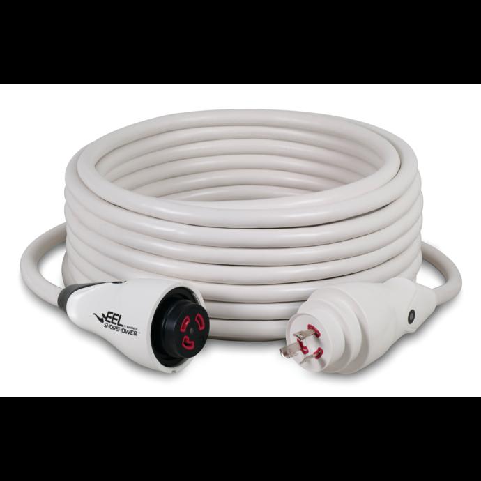 30 Amp 125V EEL ShorePower Cordsets - White 1