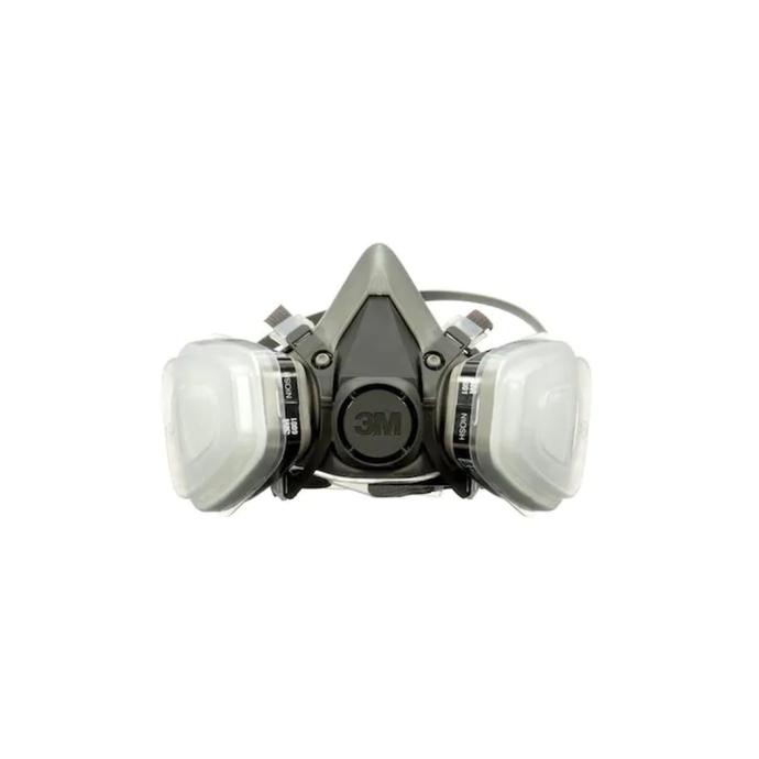 Front View of 3M 6000 Series Half Facepiece Respirator Kit - Organic Vapor & P95 Filters