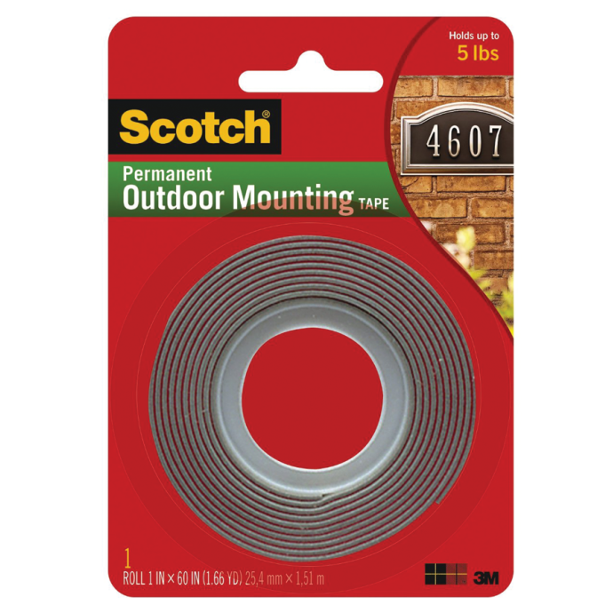 4011 Scotch Permanent Outdoor Mounting Tape 1