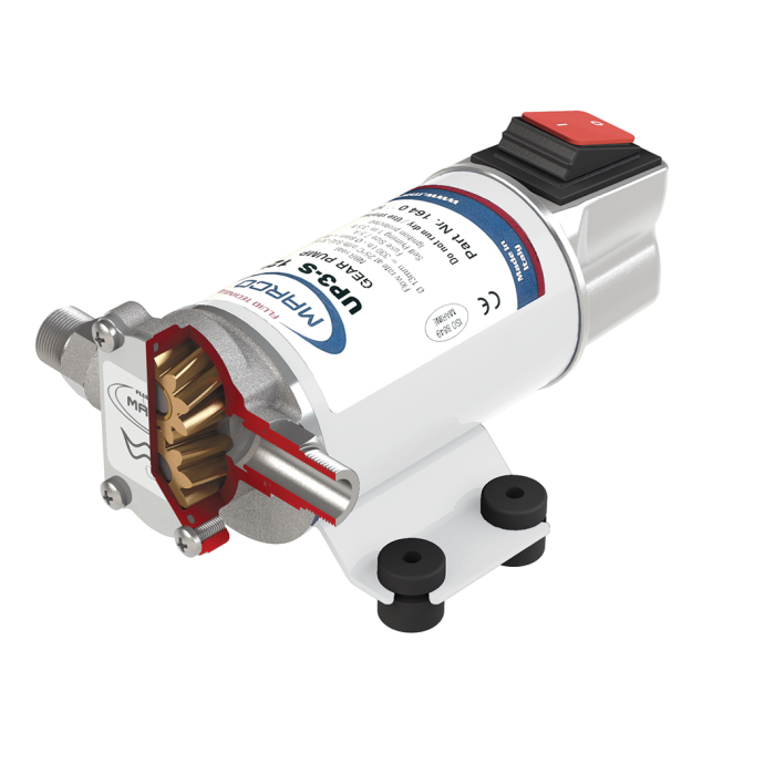 UP3-S Diesel Transfer Gear Pump - with Integral On / Off Switch 1