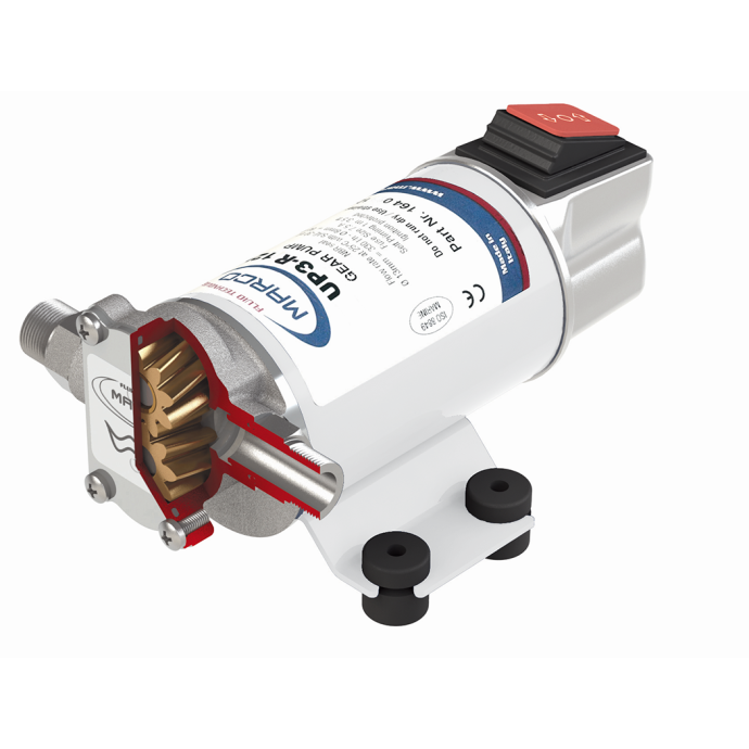 UP3-R Reversible Diesel Transfer Gear Pump - with Integral 3-Way Switch 1