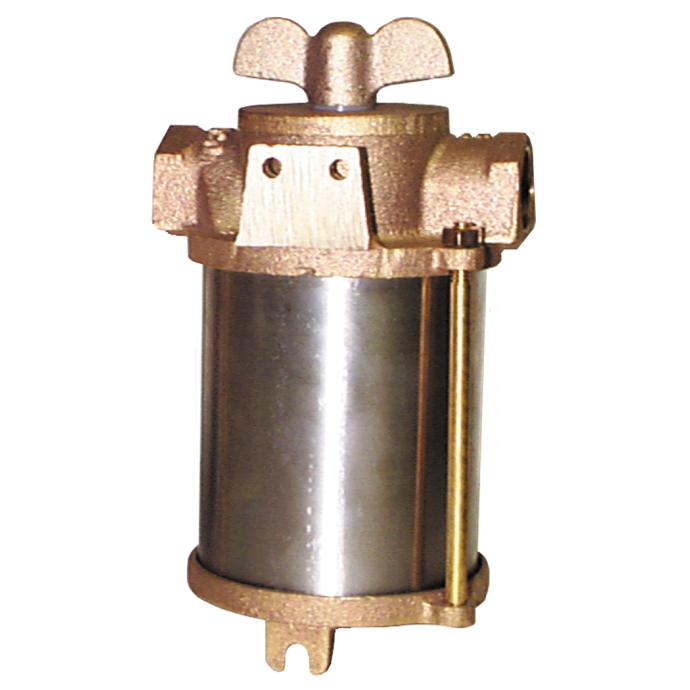 ASA Series Raw Water Strainer - with SS Enclosure 1