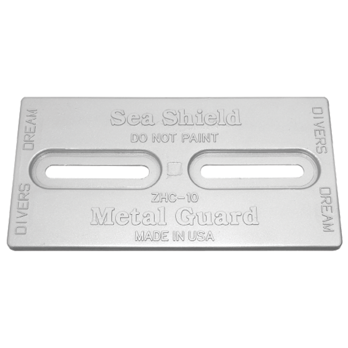 Diver's Dream Slotted Plate Anodes - Aluminum 1