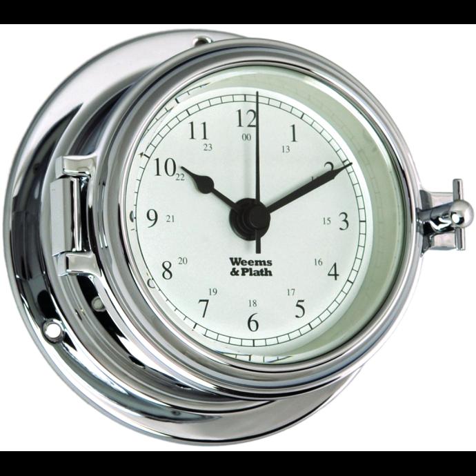 Endurance II 105 Quartz Clock - Chrome 1