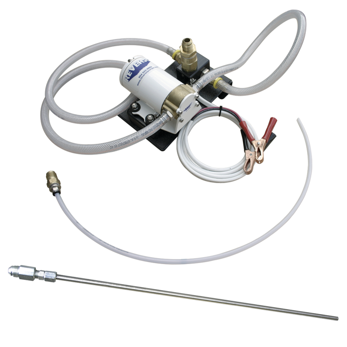 GP-311-PW Portable Gear Pump Oil Change Kit - 100W Motor and Rigid SS Dipstick Wand 1