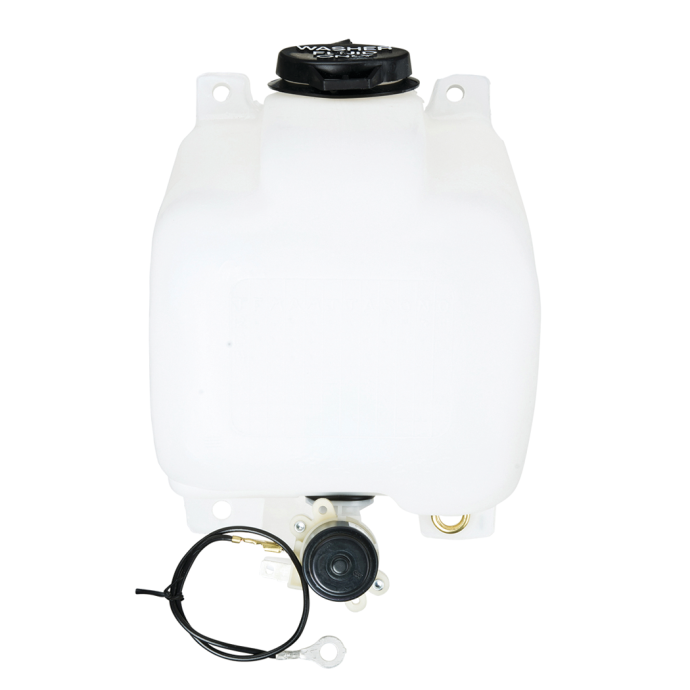 Sloped Windshield Washer Reservoir - 1/2 Gallon 1