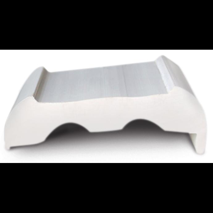 Sphaera Rub Rail Standard Base w/ Lip Only - White 1