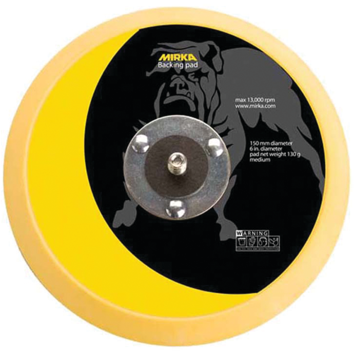 Grip Faced Backup Disc Pad 1