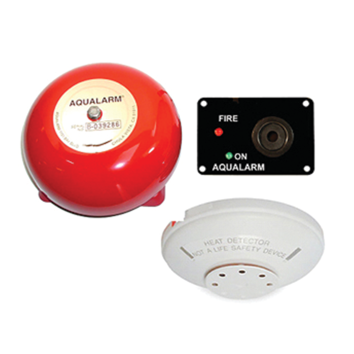 20532 Fire Alarm System - with Bell, 135DegF plus Rate of Temperature Rise Detection