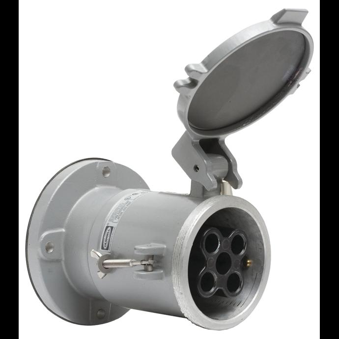 200A 600V AC/250V DC Dockside Shore Power Outlet/Receptacle 1
