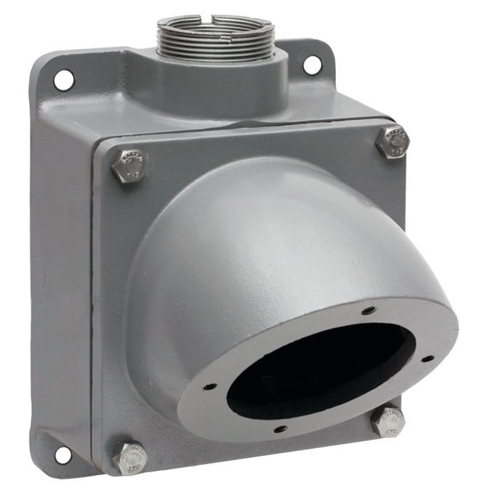 4-Position Aluminum Back Box Enclosure for 200A Shore Power Receptacles or Inlets 1