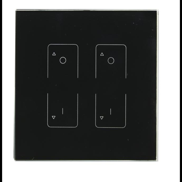 RF Light Dimmer - 2 Zone Wall Mount Transmitter/Controller 1