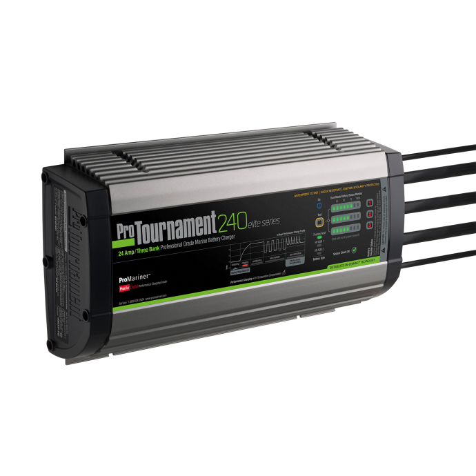 ProTournament 240 Elite Series Marine Battery Chargers - 24 Amps 1