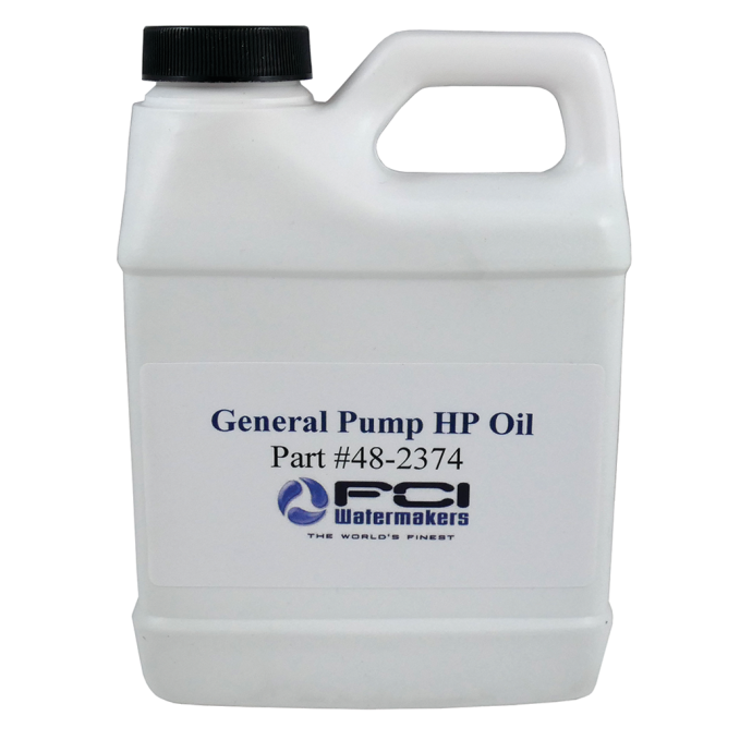 High Pressure Pump Oil - for FCI Max-Q+ Watermakers 1
