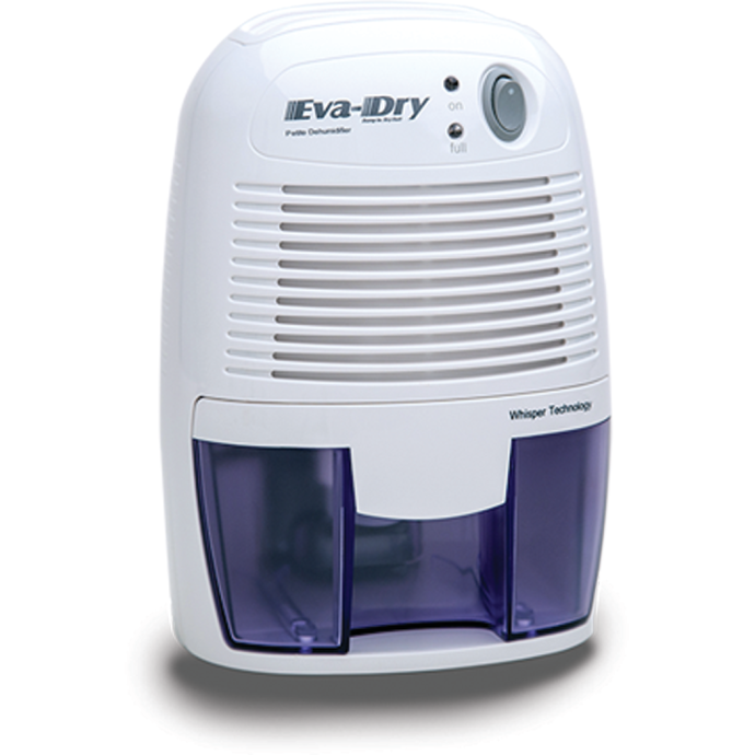 Eva-Dry 1100 Petite Electric Dehumidifier - Suitable For Up to 1,100 Cu Ft 1