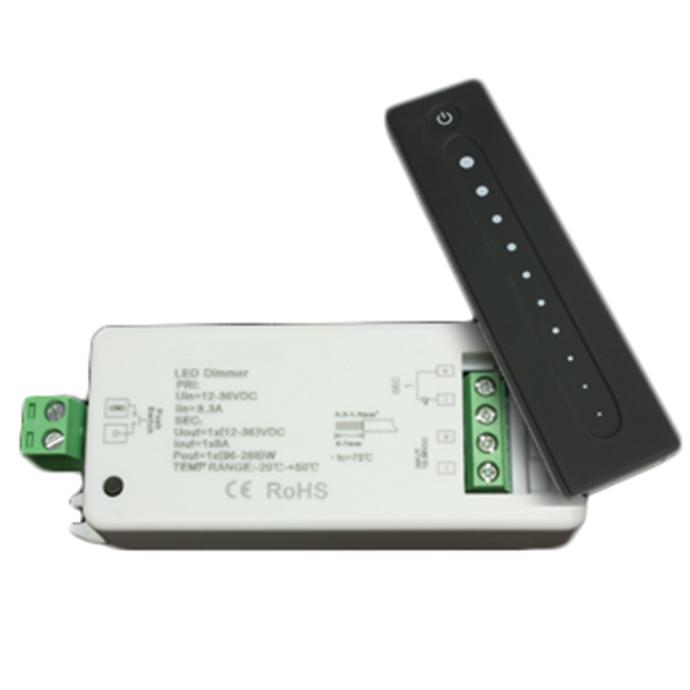 RF Light Dimmer - 1 Zone Handheld Transmitter & Receiver Kit 1
