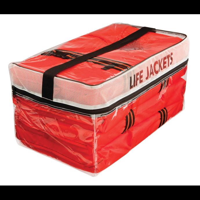 1020 Type II Life Jacket - 4-Pack in Storage Bag 1