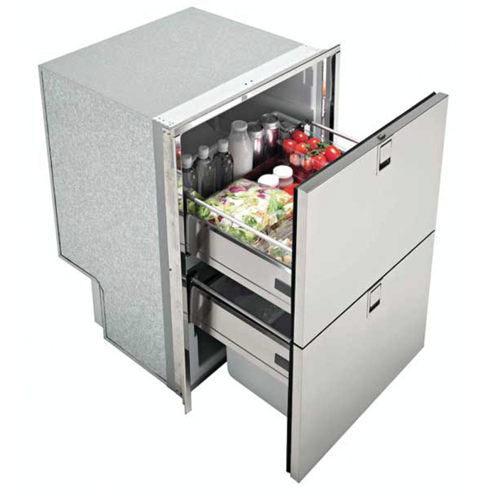 Isotherm INOX Light 160, Drawer Refrigerator - 5.5 Cubic Feet, Flush Mount 1