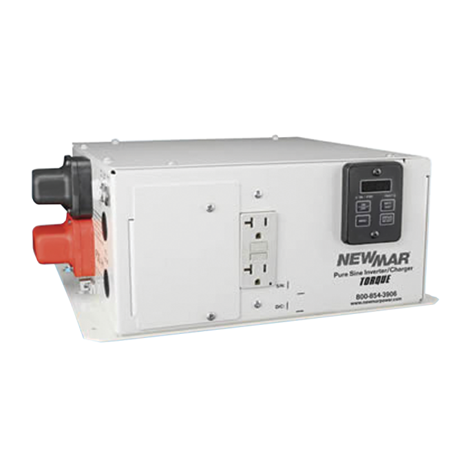 2000W Torque Sine Wave Inverter Charger -12VDC In, 120VAC Out, 125A Charger 1