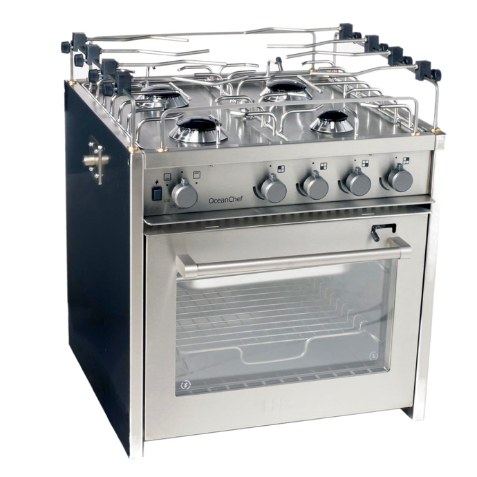 """No Longer Available: 20"""" OceanChef 4-Burner Marine Gas Stoves 1"""