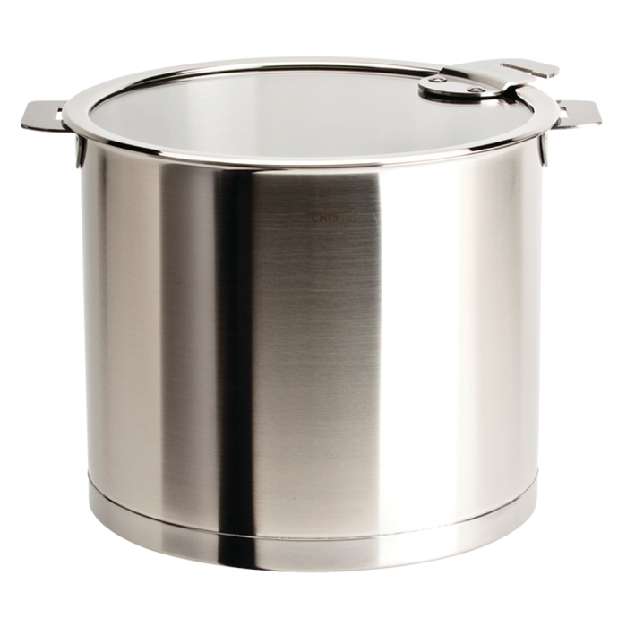 Strate 7.5 Qt. Stockpot with Glass Lid 1