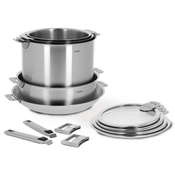 13-Pc Stainless Steel Cookware Set 1