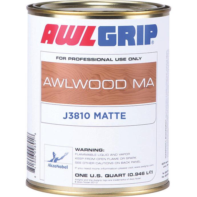 Awlwood MA Clear Topcoat Finish - Matte 1