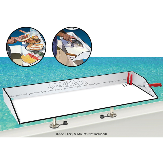 First Mate™ ?Dual-Mount? Fish Cutting and Serving Table