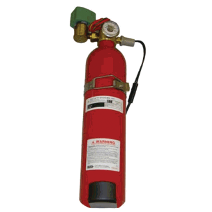 Gas Cylinder Actuator - for Pneumatic Controlled Marine Engine Room Fire Dampers 1