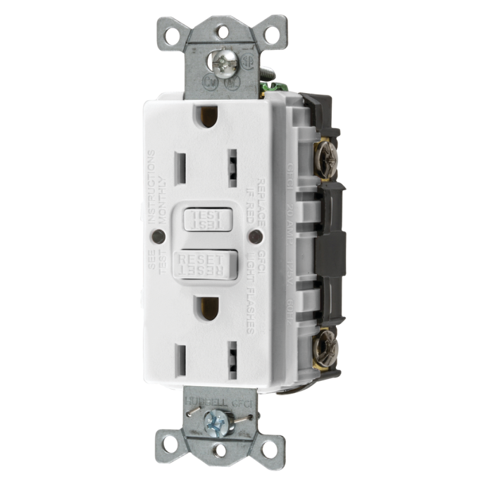 Ground Fault Circuit Interrupter GFCI Outlet 1
