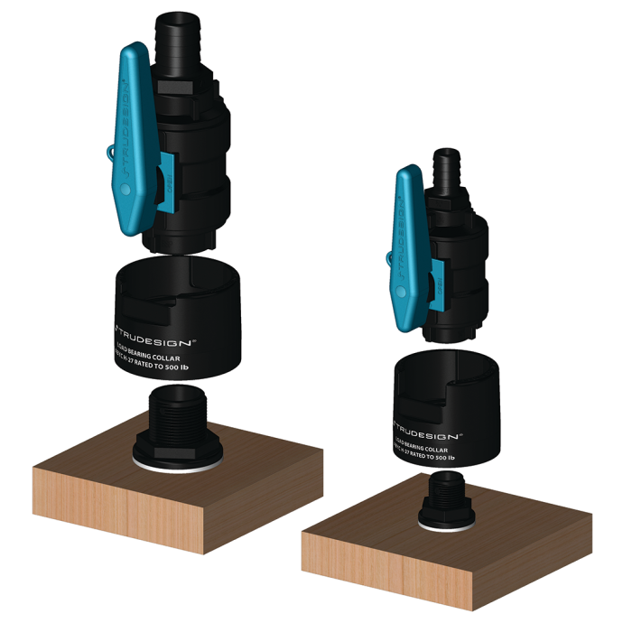 Discontinued: Tru-Design Fiberglass Reinforced Composite Seacock Valves 1