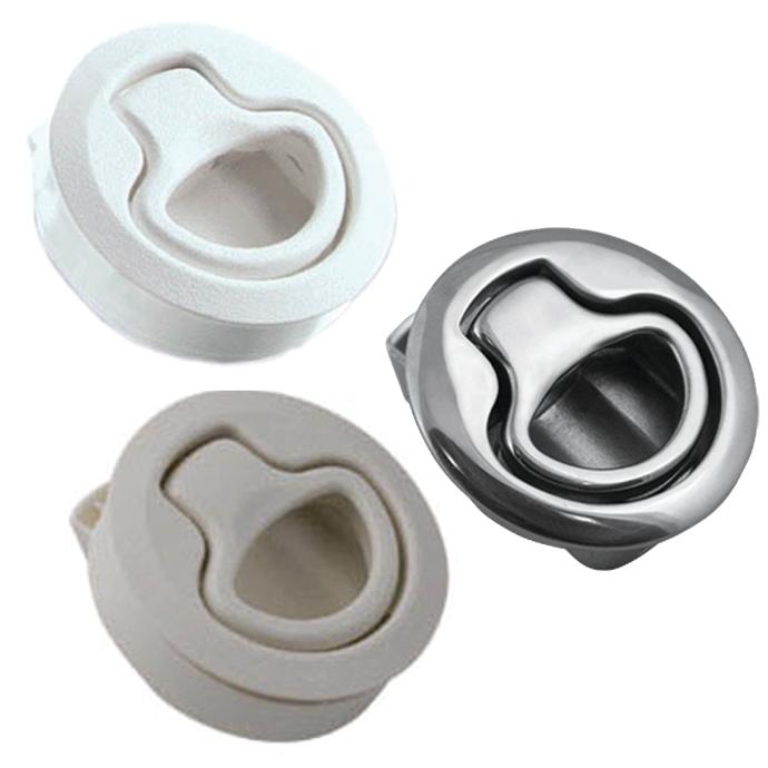 M1 Medium Flush Pull Latch - Push-to-Close 1
