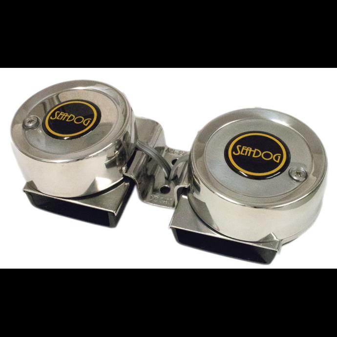 MaxBlast Twin Mini Compact Horn - Two Tone 1