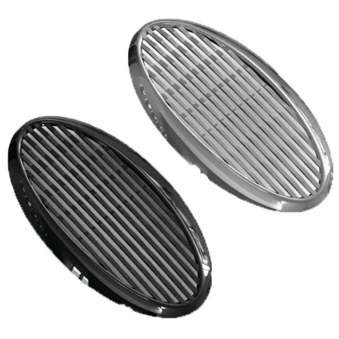 Billet Screw-In Grill Horn Cover 1