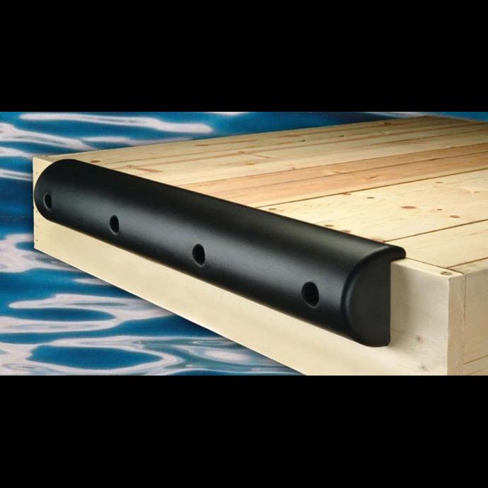 "Medium Lipped Heavy Duty Dock Bumpers - 7-1/2"" Height 1"