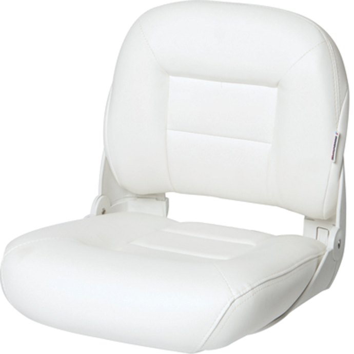 Low Back NaviStyle Boat Seat - White 1