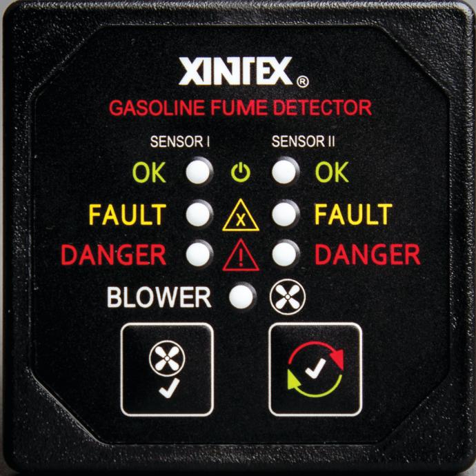Gasoline Fume Detector - 2-Channel 1