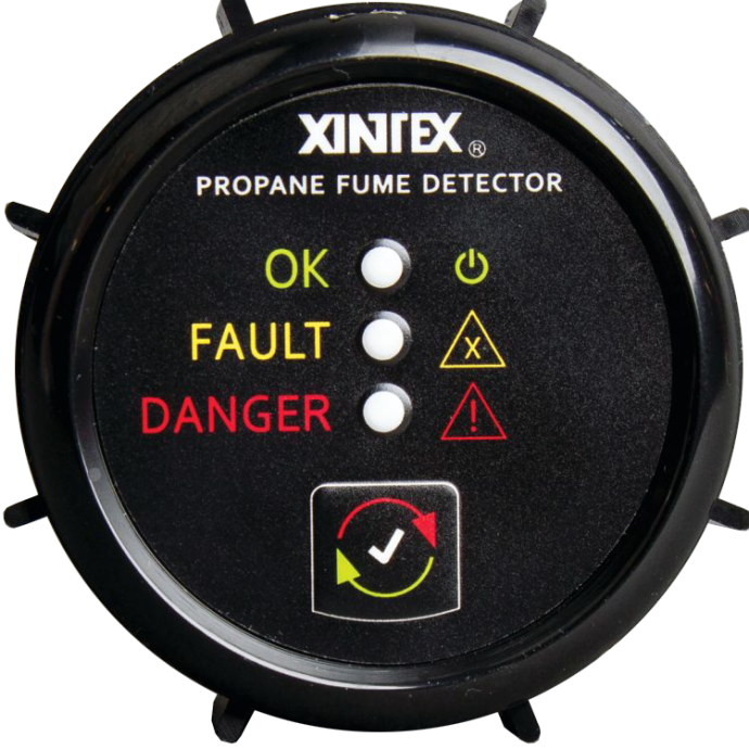 Propane Fume Detector - 1-Channel with Sensor NSV 1