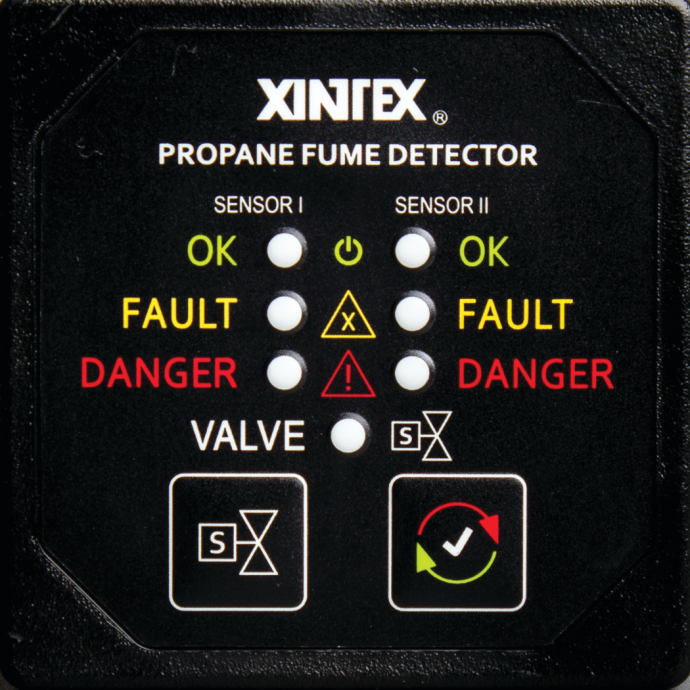 Propane Fume Detector Two Channel 1