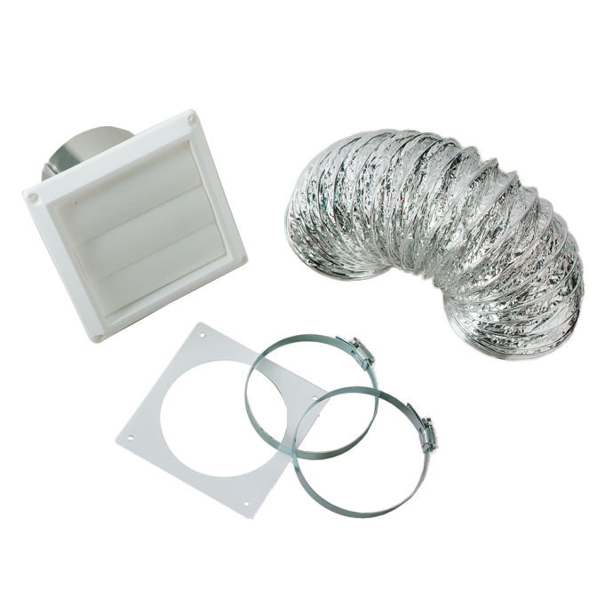 "4"" Dryer Vent Kit 1"