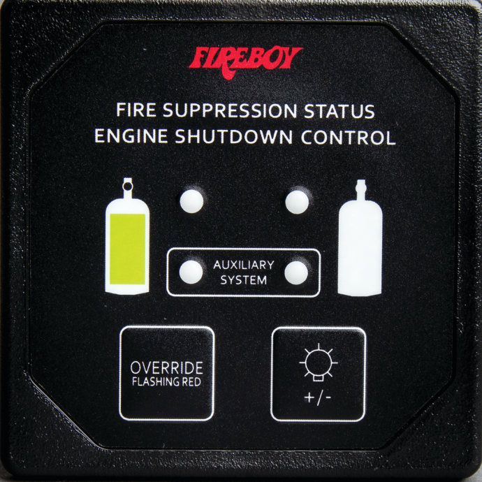 Second Station Panel Display for Engine Shutdown Systems 1