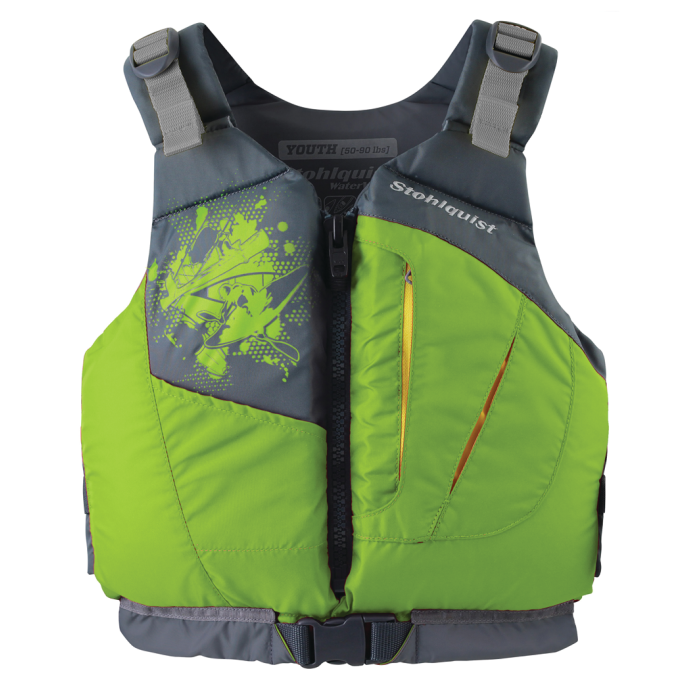 No Longer Available: Escape Youth Life Jacket PFD - Lime 1