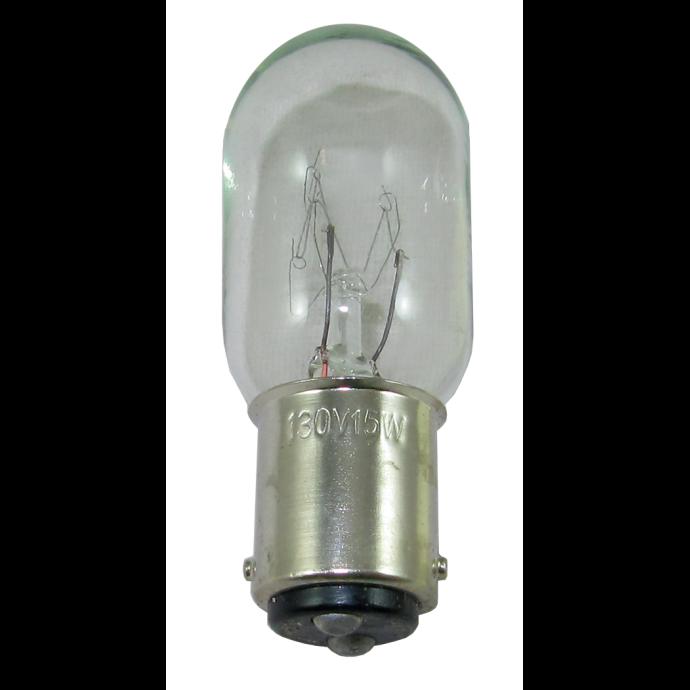 "Double Contact Bayonet Base Bulbs, 7/8"" diameter bulb"