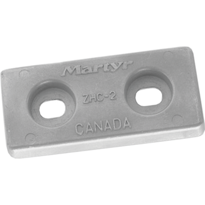 Bolt on Hull Plate Anodes - Zinc