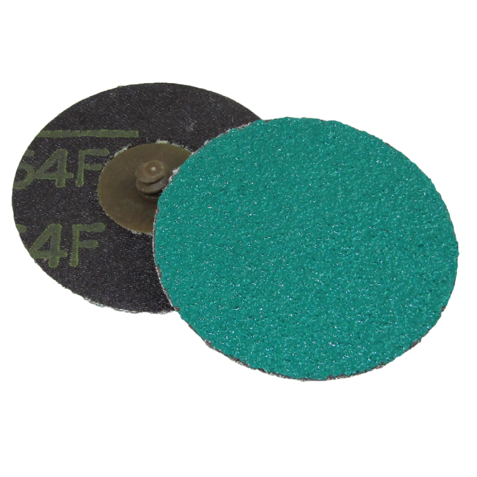 Discontinued: Green Corps Roloc Grinding Discs - 264F Retail Packs 1