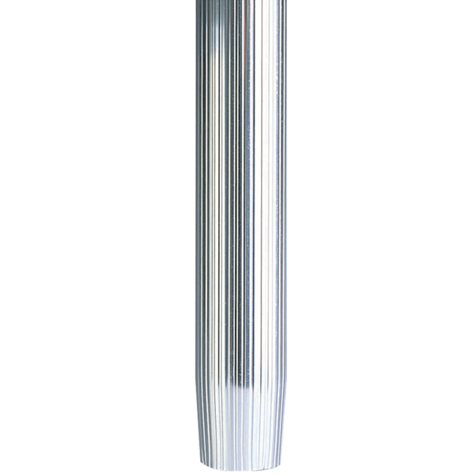 30IN RIBBED TAPER STANCHION POST ONLY