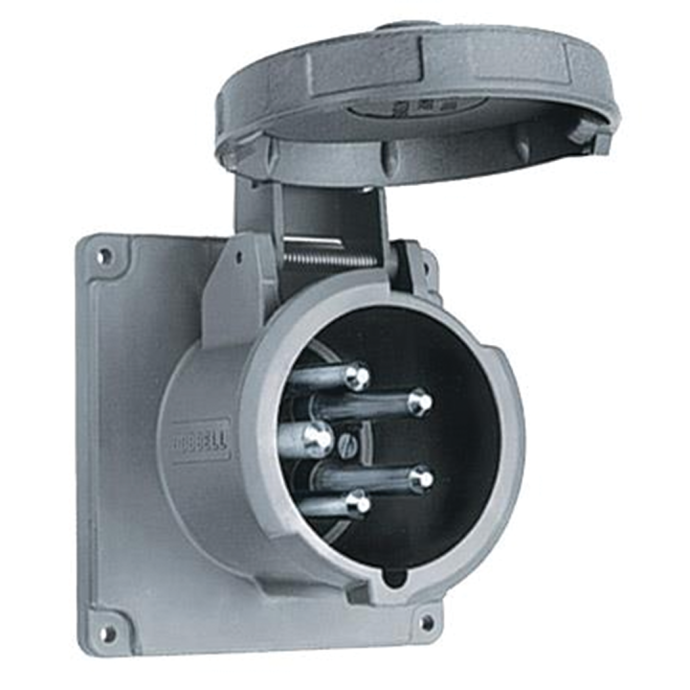 100A 3ØY 120/208V Shore Power Inlet