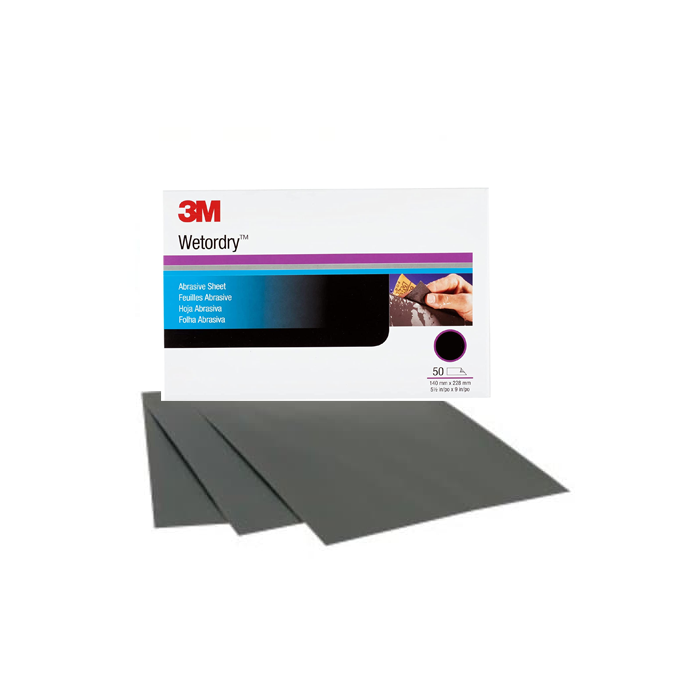 3M™ Imperial™ Wetordry™ Sandpaper Sheets 401Q